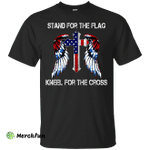 Stand For The Flag Kneel For The Cross Shirt, Hoodie, Tank
