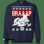 Motocross Braaap Christmas Sweater, Shirt, Hoodie