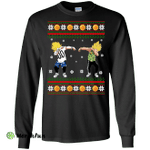 Goku and Vegeta Dab Christmas Sweater, Shirt, Hoodie