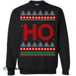 Santa Claus HO Christmas Sweater, Shirt
