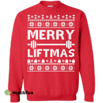 Merry Liftmas Ugly Christmas Sweater, Shirt, Hoodie, Tank