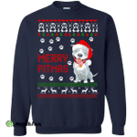 Merry Pitmas Pitbull Christmas Sweater, Shirt, Hoodie