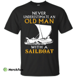 Old man with a Sailboat Men t-shirt/hoodie/tank