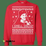Gilmore Girl Lorelai sweater: I Smell Snow