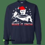 Star Trek captain Picard: Make It Snow Sweatshirt, Shirt