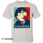 Randy Marsh CHANGE shirt Obama poster style - South Park