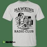 Stranger Things: Hawkins Middle school Radio Club t-shirt