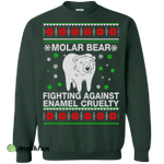 Molar Bear Fighting Against Enamel Cruelty Sweater, Shirt, Hoodie