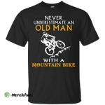 Old man with Mountain Bike t-shirt/hoodie/tank
