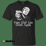 Donald Trump Make Wolf Lake Great Again Black Shirt
