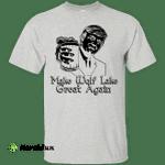 Donald Trump Make Wolf Lake Great Again White Shirt