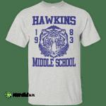 Stranger Things Dustin Hawkins Middle School Tigers Shirt, Hoodie