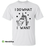 Unicorn I Do What I Want Shirt, Hoodie, tank
