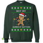Shrek: Not My Gumdrop Buttons Christmas Sweater, Shirt, Hoodie