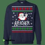 Sleigher: The Heavy Metal Santa Claus Sweater, Shirt, Hoodie