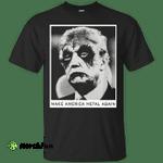 Donald Trump: Make America Metal Again shirt, hoodie, tank