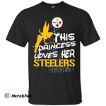 This Princess Love Her P.Steelers T Shirts