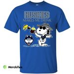 Connecticut Huskies Make Me Drinks T Shirts
