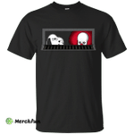 Snoopy and Stephen King's IT shirt, tank top