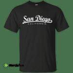 San Diego Classic California shirt t shirt