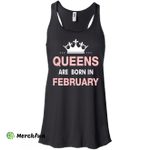 Queens are born in February Shirt, Hoodie, Tank