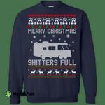 Merry Christmas Shitters Full Sweater, Shirt, Hoodie