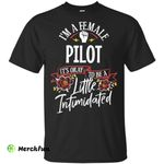 Strong Woman Pilot Funny shirt t shirt