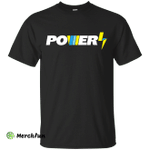 Power Logo Hazard Bolt shirt t shirt