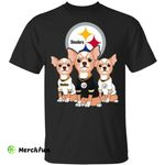 Pretty Chihuahuas Pittsburgh Steelers shirt t shirt