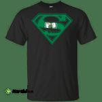 Superman Boston Celtics t shirt t shirt