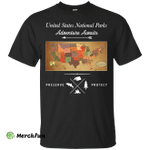 United State National Parks Map shirt, hoodie