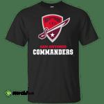 San Antonio Commanders funny shirt t shirt