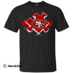 San Francisco 49ers Autism shirt t shirt