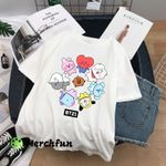 BTS Army BT21 Cute T shirt Mug Love Family