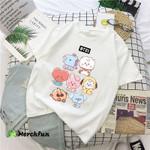 BTS Army BT21 Chibi Cute T shirt Mug