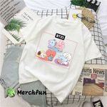 BTS Cute BT21 Funny T shirt Mug for Army Cute Babies