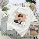 BTS Army BT21 Cute T shirt Mug Jin And Baby RJ
