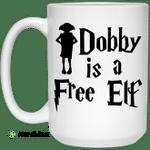 Dobby Is A Free Elf Harry Potter Mug