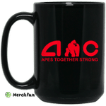 AMC Apes Together Strong AMC To The Moon Mug