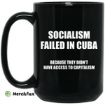 Socialism Failed in Cuba Because They Don't Have Access To Capitalism Mug
