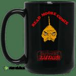 Read Moore Comix Cartoonist Kayfabe Mug