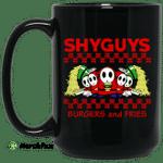 Shyguys Burgers And Fries Mug