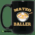 Matzo Baller Baseball Mug