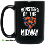 Monsters Of The Midway Chicago Bears Mug