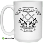 The Mountain Goats Outnumbered And Unafraid Mug