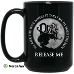 Ill Ride The Wave Where It Takes Me Ill Hold The Pain Release Me Pearl Jam Mug