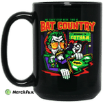 Welcome To Gotham This Is Bat Country Batman Mug