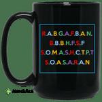RABGAFBAN City Girls Act Up Mug