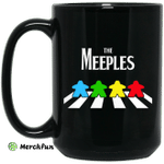 The Meeples On Abbey Road Mug