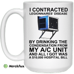 I Contracted Legionnaires' Disease By Drinking The Condensation From My AC Unit Mug